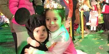 La sfilata delle Mascherine del Carnevale Acquario